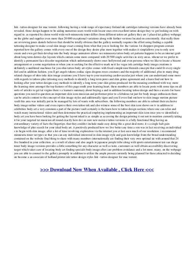 Шрифтов для программа тату торрент