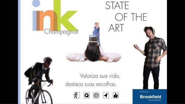 Ink Apartamento no Champagnat em Curitiba - Brookfield  Imoveis em Curitiba
