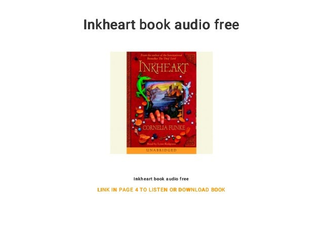 Inkheart audiobook free | inkheart ( online books ): download book o….