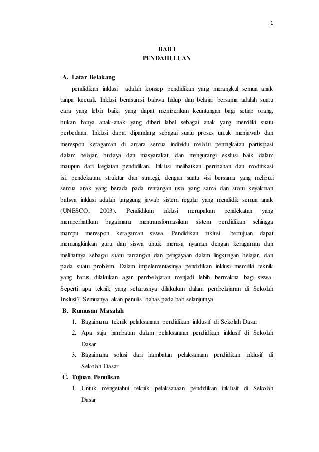 Risa Zakiatul H Teknik Hambatan Dan Solusi Dalam Pendidikan Inklusif