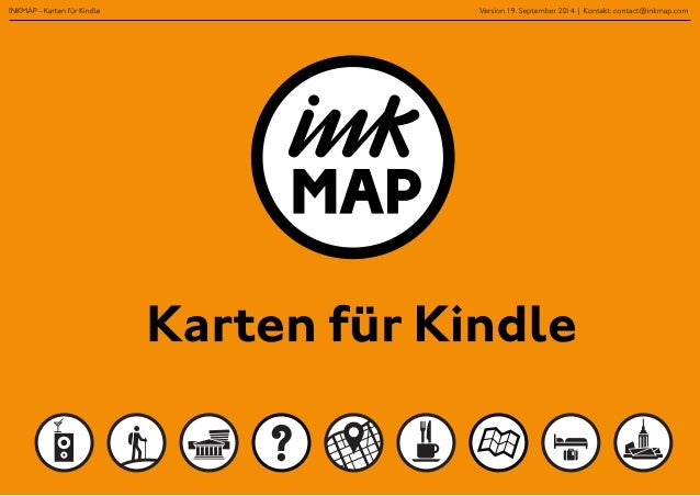 Inkmap - Karten für Kindle auf amazon (Deutsch)