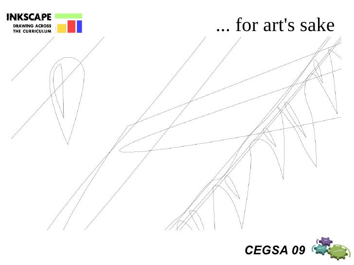 inkscape  drawing across the curriculum