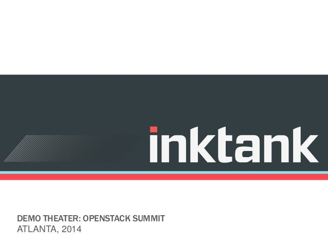DEMO THEATER: OPENSTACK SUMMIT ATLANTA, 2014