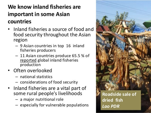 Understanding inland fisheries production using household ...