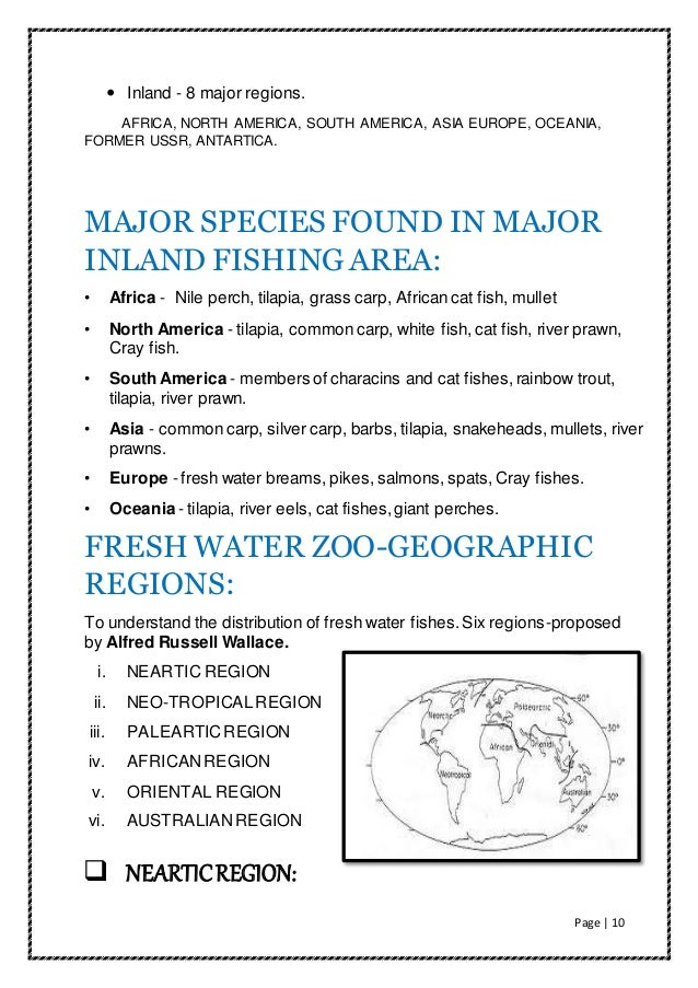 Inland fishery resources of world for What does sustainable fish mean