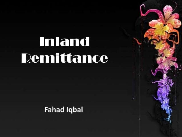 Inland Remittance