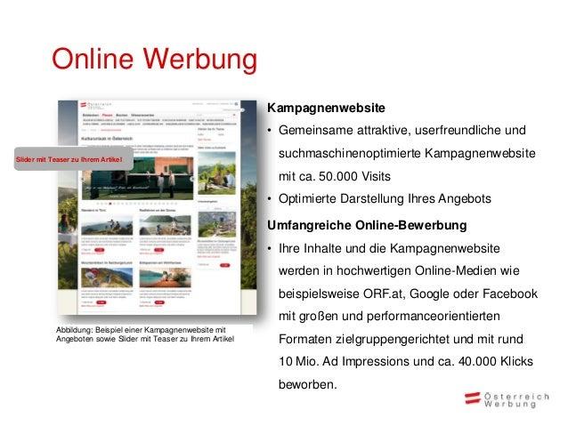 Online Werbung                                                                 Kampagnenwebsite                           ...
