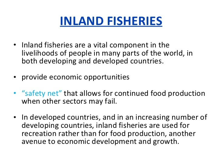 world inland capture fisheries