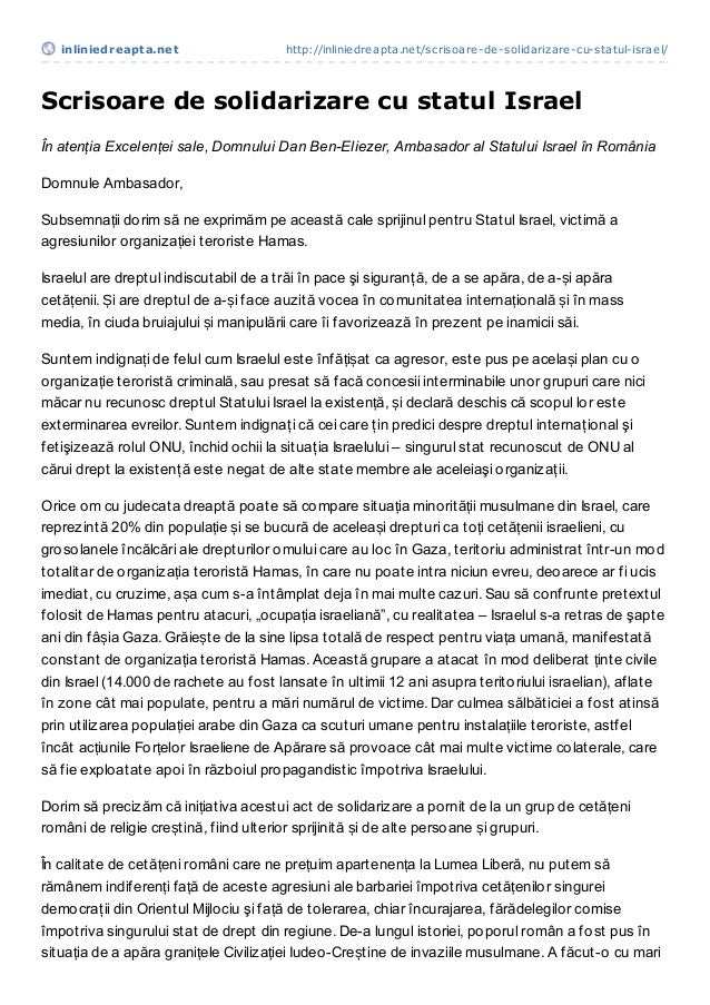 inliniedreapt a.net                  http://inliniedreapta.net/scrisoare-de-solidarizare-cu-statul-israel/Scrisoare de sol...