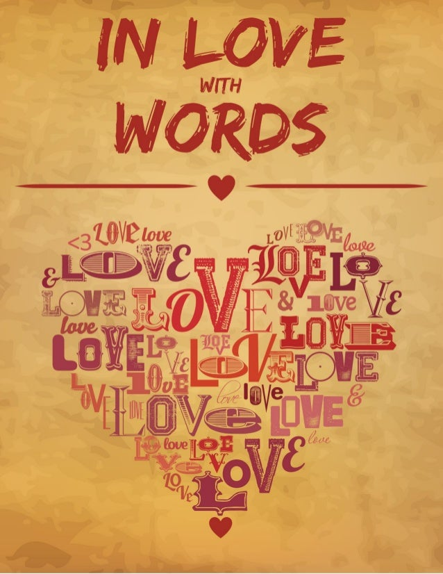 In Love with Words - Discover How To Express Your Inner