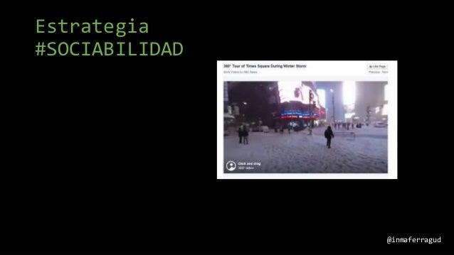 Estrategia #SOCIABILIDAD @inmaferragud