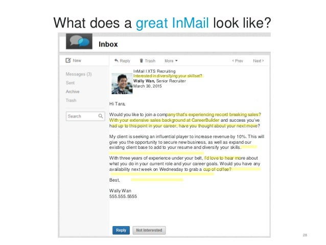 InMail 2.0: How to Make Good InMails Great [Webcast]