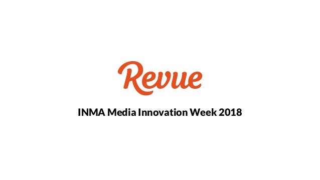 INMA Media Innovation Week 2018