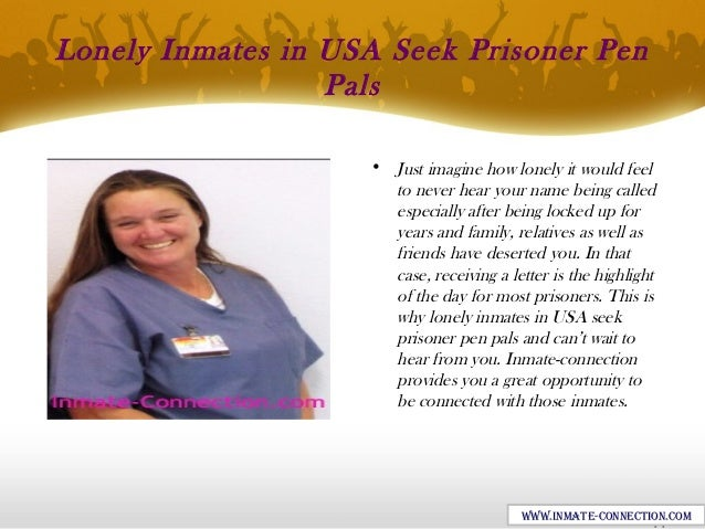 Inmate-Connection: A Secure Option of Pen Pals for Prisoners