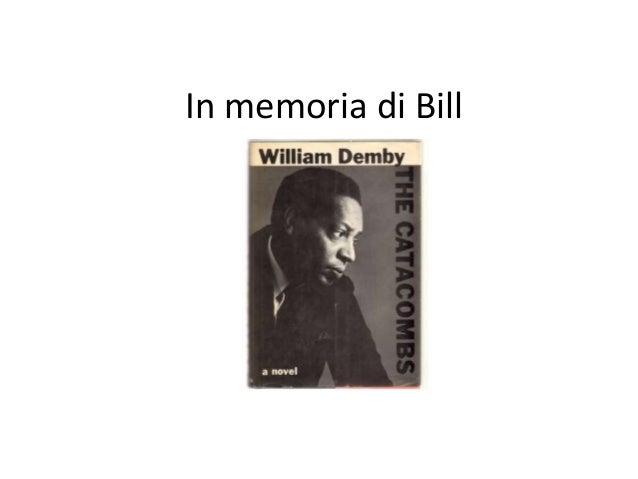 In memoria di Bill
