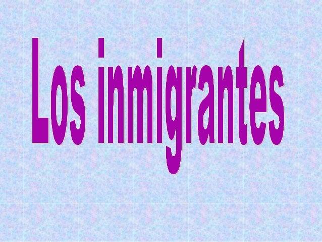 Grupo de extranjeros que recién llegaban a Argentina.