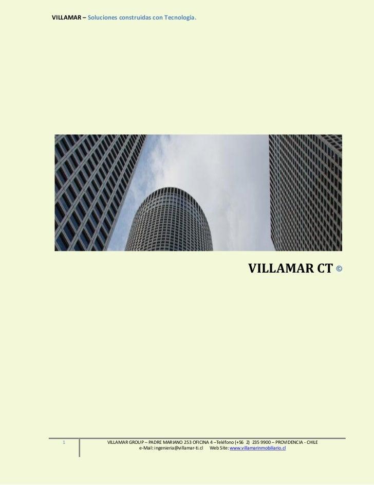 VILLAMAR – Soluciones construidas con Tecnología.                                                                         ...