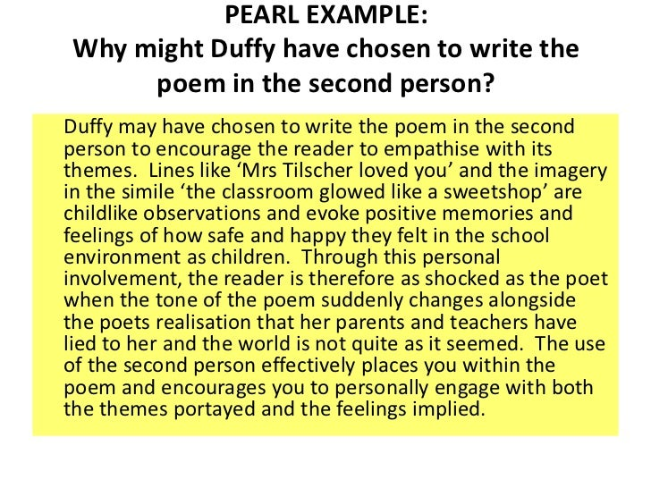 poem commentary in mrs tilchers class Here is a collection of the all-time best famous carol ann duffy poems on  or anything else carol ann duffy poem related using the poetrysoup search engine.