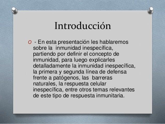 Inmunidad espesifica e inflamatoria Slide 2