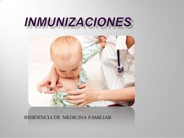 RESIDENCIA DE MEDICINA FAMILIAR