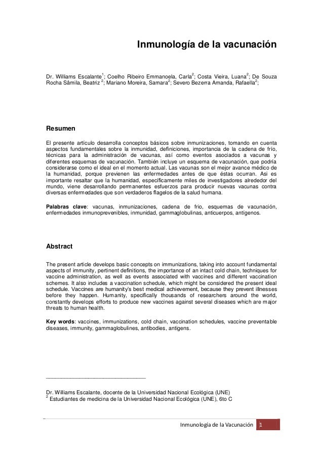 Inmunología de la vacunación                       1                                     2                      2Dr. Willi...