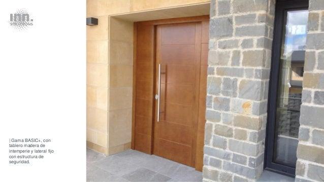 Puertas seguridad inn door para viviendas y negocios for Puertas para vivienda
