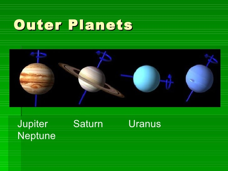 is jupiter a inner or outer planet - photo #1