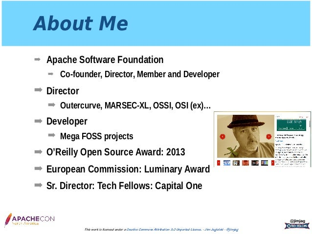 ApacheCon 2017: InnerSource and The Apache Way Slide 2
