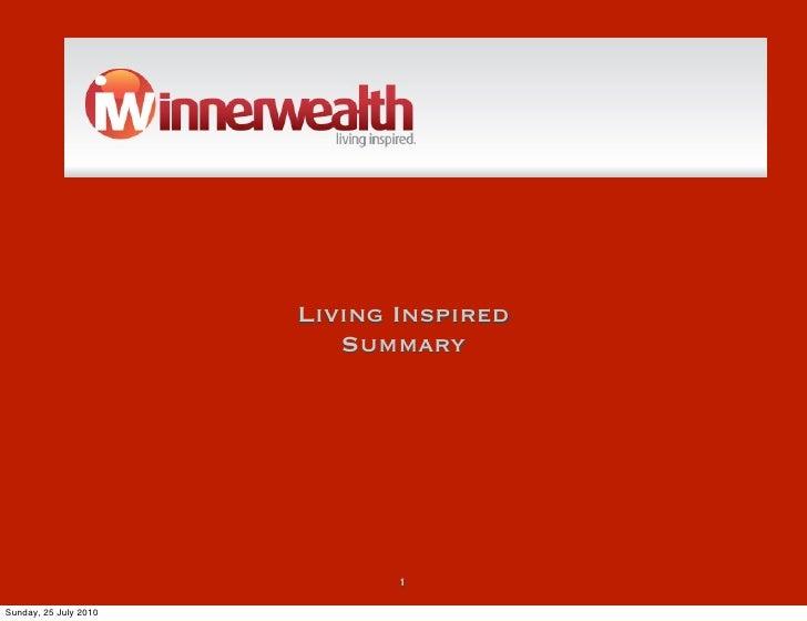 Innerwealth Living Inspired Summary