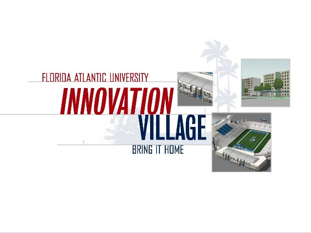 &FAU's Residence, Recreation Retail Initiative