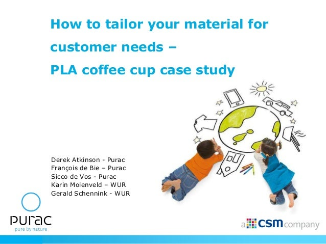 How to tailor your material for                 customer needs –                 PLA coffee cup case study                ...