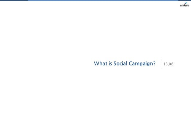 What is Social Campaign?  13.08