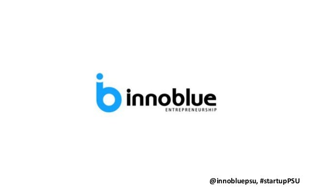 @innobluepsu, #startupPSU