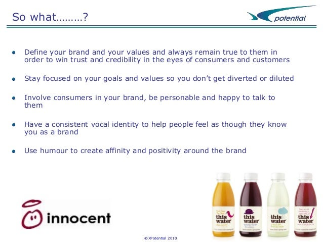 innocent brand guidelines