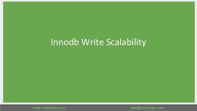 Innodb Write Scalability 15