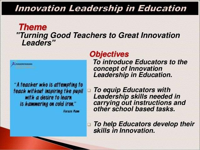 2019 International Trainings & Seminar -Innovation
