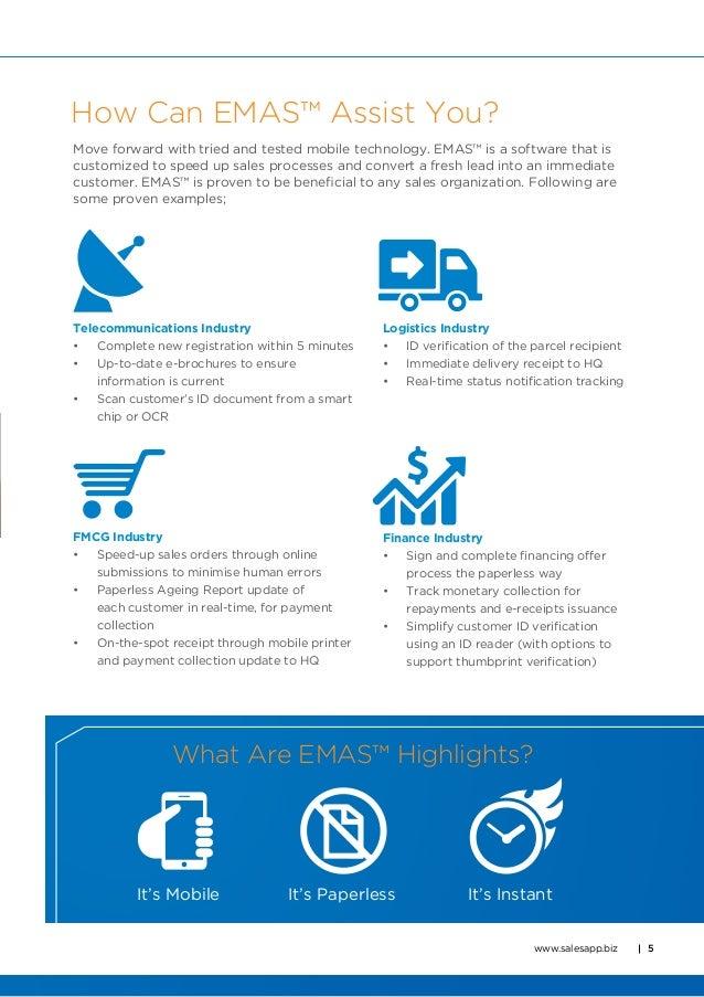 innov8tif emas enterprise mobility application solution brochure