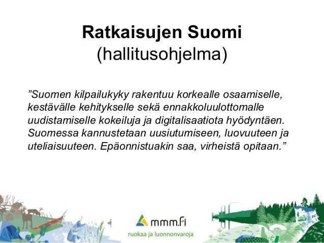 Euroopan meri- ja kalatalousrahasto kalatalouden uudistajana Timo Halonen  Maa- ja metsätalousministeriö  bluebio  biotalous  2. Ratkaisujen Suomi ... 85430ecbec