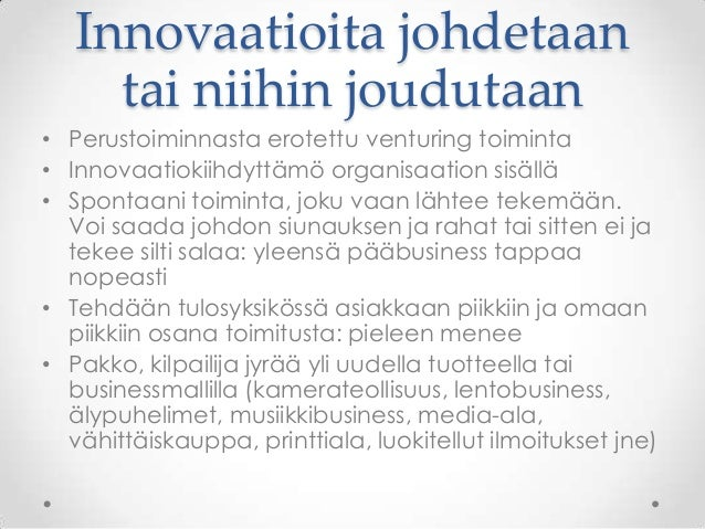 Innovaatiotoiminta
