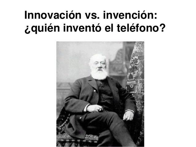 Innovación vs. invención: ¿quién inventó el teléfono?