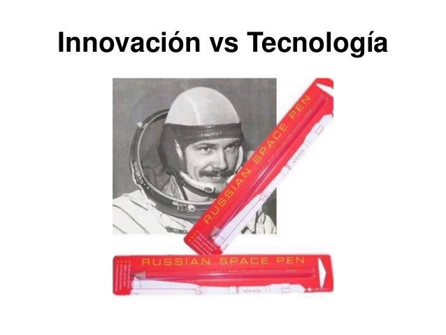 Innovación vs Tecnología