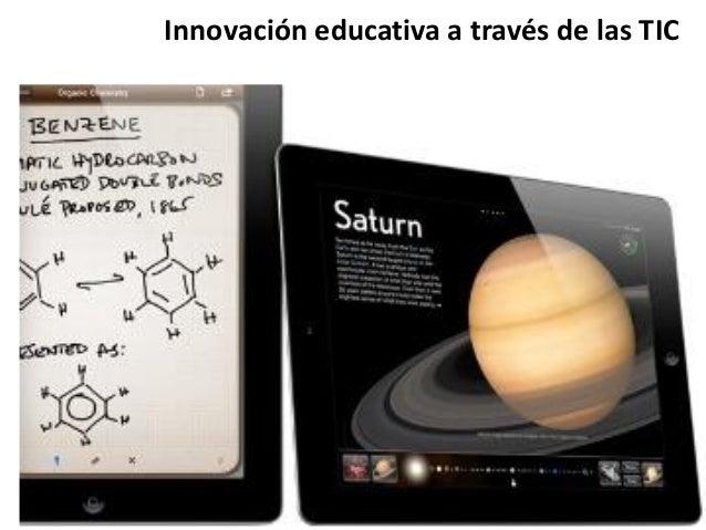 Innovación educativa a través de las TIC