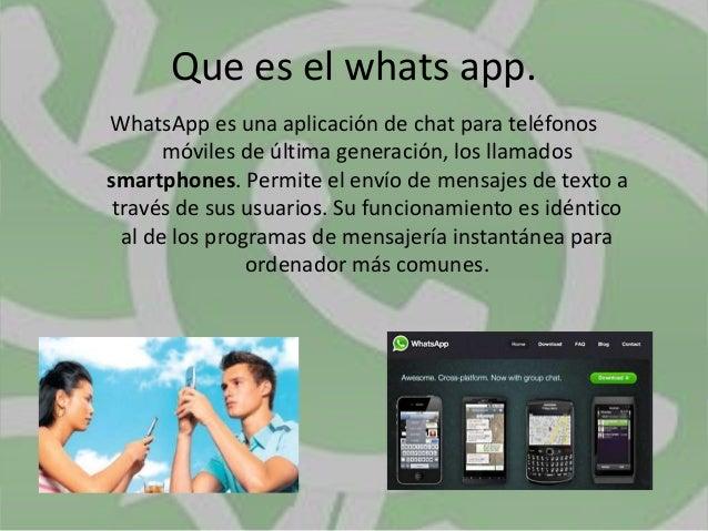 Innovacion educativa whats app Slide 2