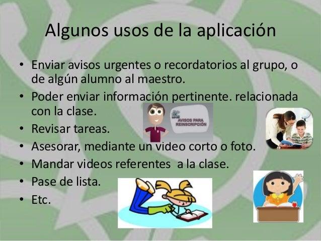 Innovacion educativa whats app