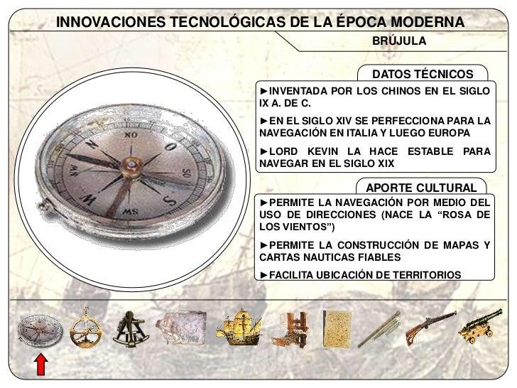 inventos tecnologicos del siglo xv y xvi
