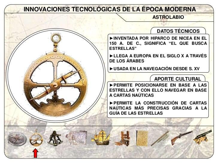 inventos s xvi