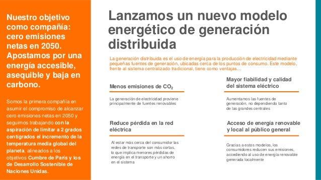 Lanzamos un nuevo modelo energético de generación distribuida La generación distribuida es el uso de energía para la produ...