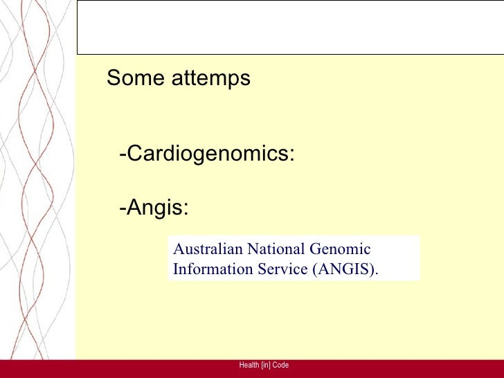 •       We created a Spin-Off:     -Genetic diagnosis in cardiovascular diseases -Cardiovascular genetics knowledge managm...
