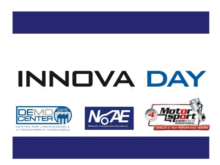 INNOVA DAY: WHAT IS IT? 4° EDITION START-UPS' ACCELERATION  PROGRAM