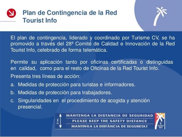 1. Webinar «Medidas para la reducción del contagio por el coronavirus SARS-CoV-2 para Oficinas Tourist Info, sobre Especif...